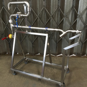 Stainless Steel Trolly Fabrication