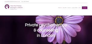 Clear Mind Therapy Kensington London Offers Private Psychotherapy, Relationship Counselling, Anxiety Therapy, Depression Counselling & Online Counselling