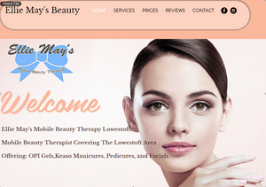Ellie May Mobile Beauty Therapist Lowestoft,Beccles,Kessingland.