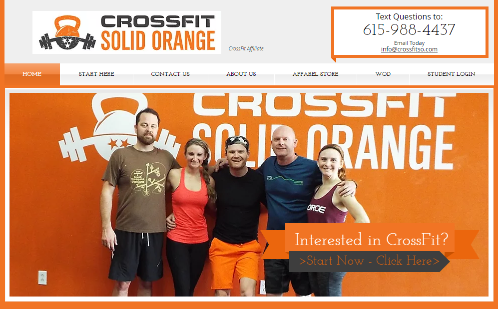 CrossFit Solid Orange CrossFit Gym in Nashville TN