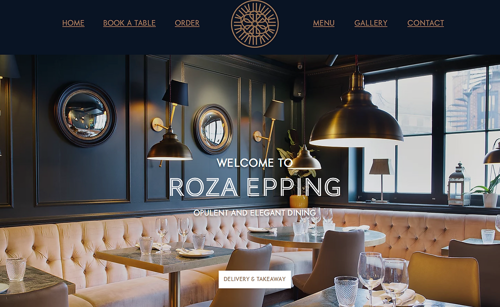 Roza Restaurant & Bar Epping Has Great Tasting Mediterranean Food, Great Value & Great Service Takeaway Or Delivered To Your Door Located Epping High Road