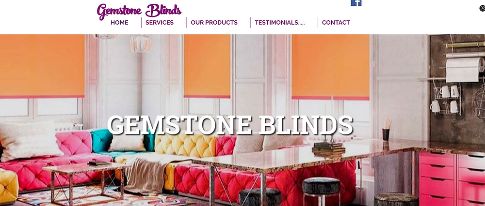 Gemstone Blinds | Made To Measure Blinds & Fitting Service. Roller, Vertical, Roman, Faux Wood Blinds Bournemouth, Christchurch, Poole & All Surrounding Areas