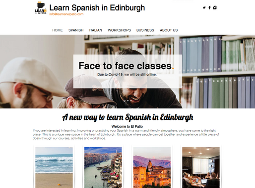 Learn Spanish & Italian Online In Edinburgh