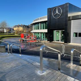 Mercedes F1 Handrailing