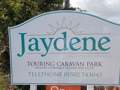 Welcome to jaydene #touring #caravan parks #suffolk