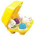 TOMY Play to Learn Hide 'n' Squeak Eggs
