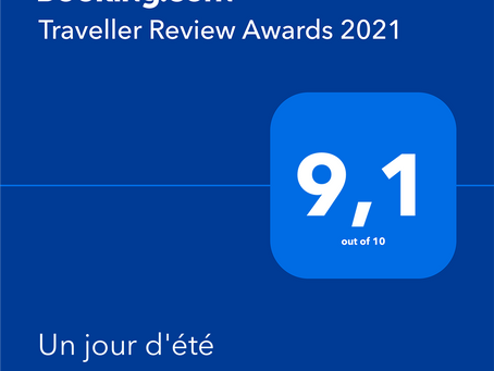 Traveller Review Awards 2021 Booking