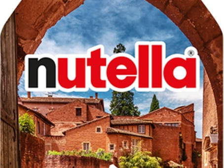NUTELLA choisit ALBI pour symboliser l'Occitanie