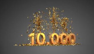 10 000 nuitées🥳🎉