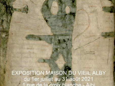 Exposition Mappa Mundi à la Maison du vieil Alby