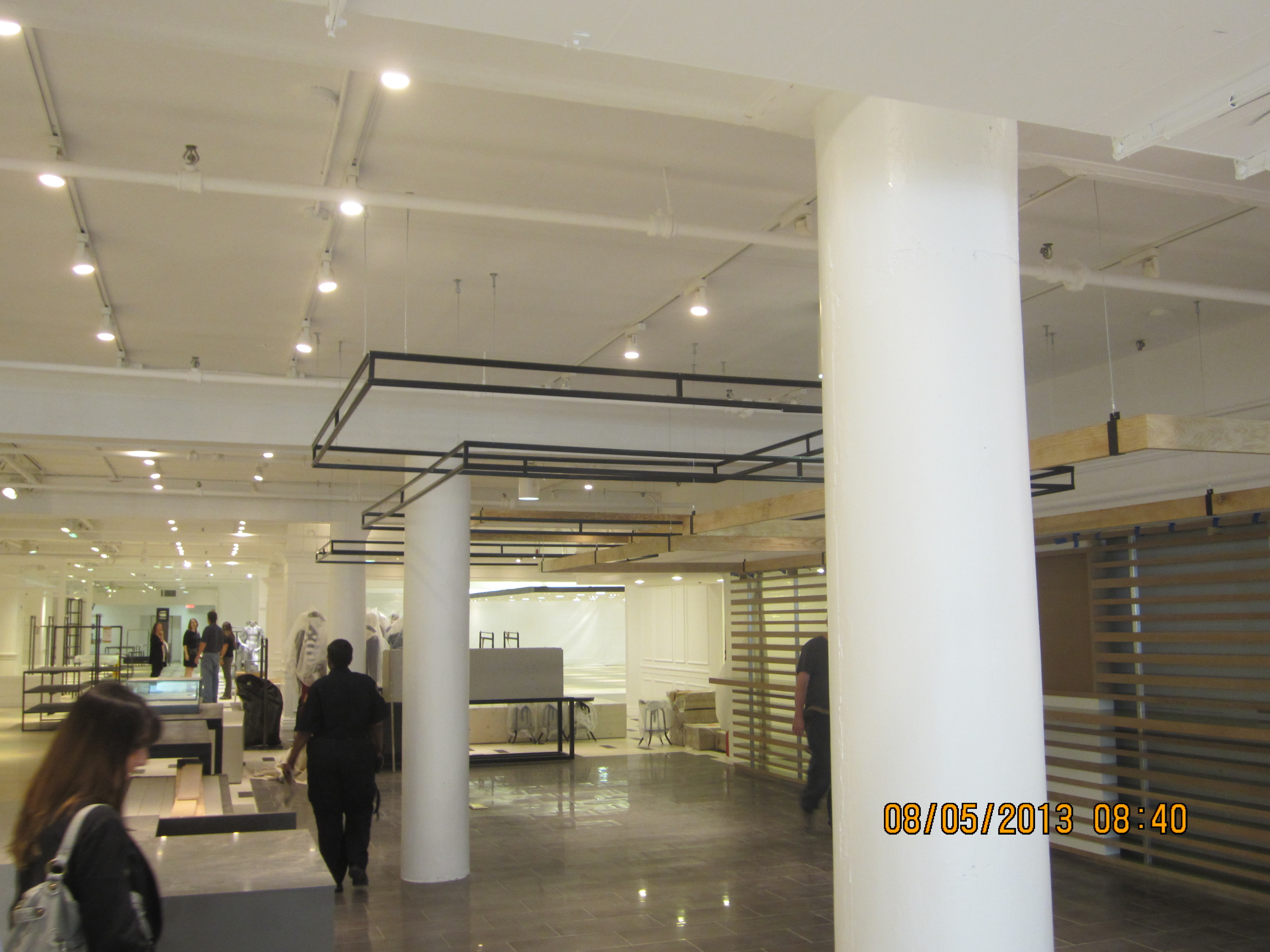 Plaster Columns & Speciality Ceiling