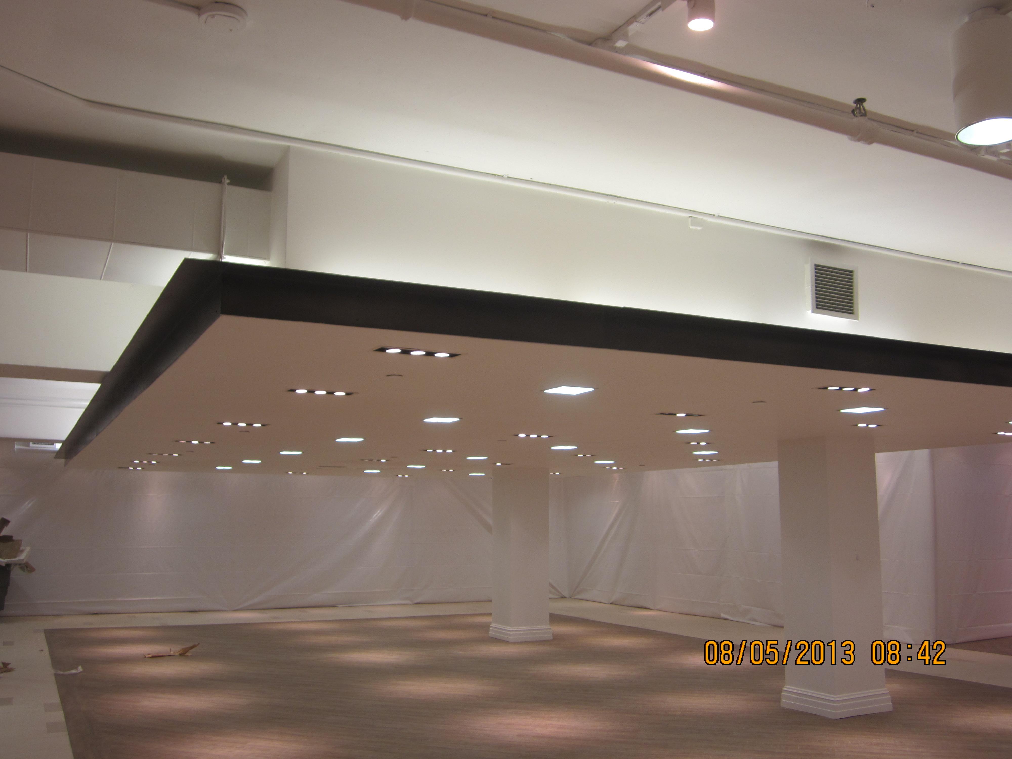 Cloud ceilings - Level 5 finish