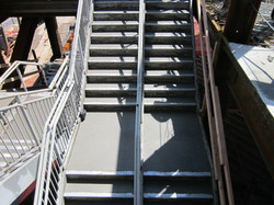 Stadium Concrete Steps