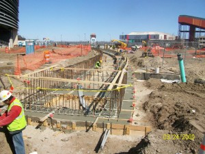Forming of Foundation