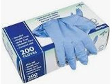 Curad / Medline Nitrile Exam Glove Powder Free