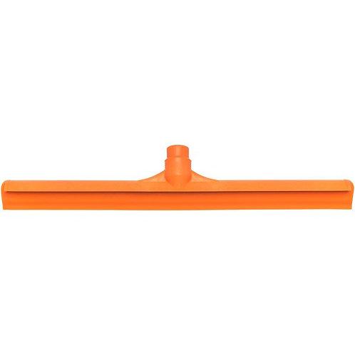 "Carlisle Sparta Spectrum 20"" Orange Single Blade Rubber Squeegee,Plastic Frame"