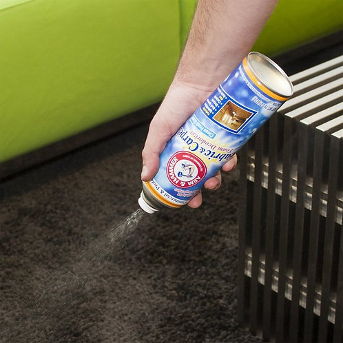 Arm & Hammer 15 oz. Fabric & Carpet Foam Deodorizer Spray - 8/Case