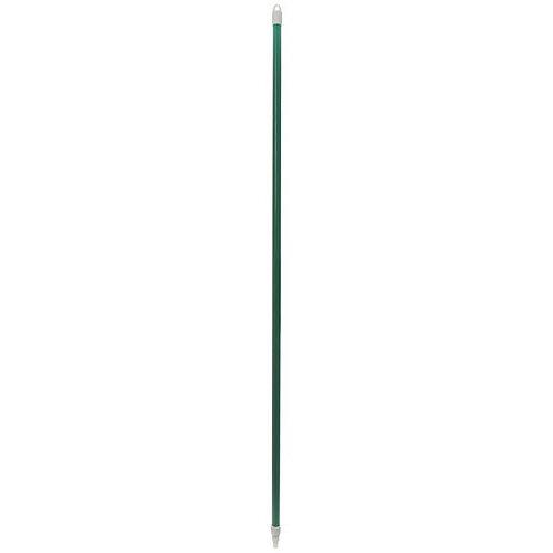 "Carlisle  Sparta Spectrum 60"" Green Threaded Fiberglass Broom / Squeegee Handle"
