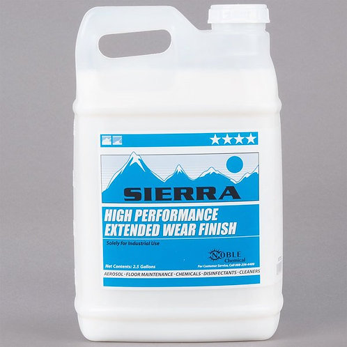 Noble Chemical 2.5 gallon/320 oz High Performance Extended Wear Finish - 2/Case