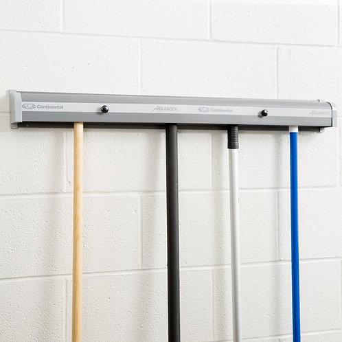 "Continental  36"" Broom & Mop Closet Rack / Hanger"