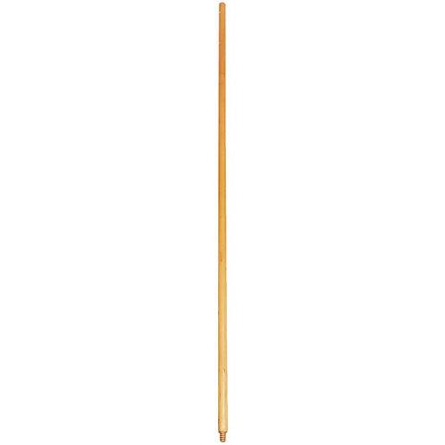 """Carlisle 60"""" Threaded Wooden Broom Handle"""