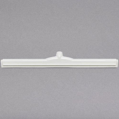 "Carlisle Sparta Spectrum 24"" White Double Foam Floor Squeegee,Plastic Frame"
