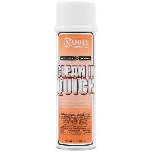 Noble Chemical 15 oz. Clean-It-Quick V&alism Mark Remover - 12/Case