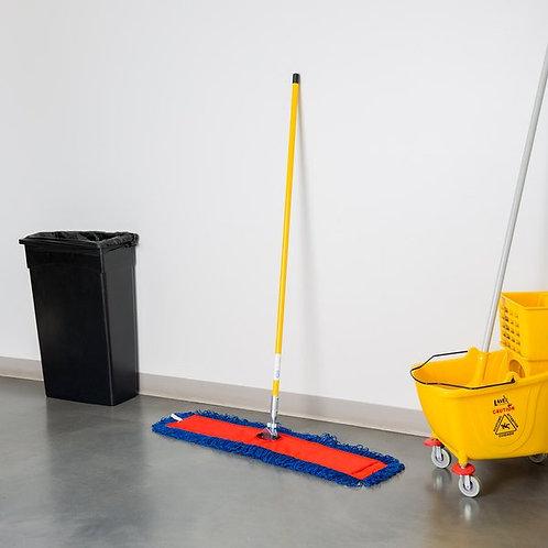 "36"" x 5"" All-In-One Microfiber Dust Mop w/ 60"" Handle"