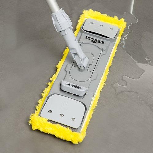 "Unger SmartColor MicroMop 15.0 16"" Yellow Wet / Dry Mop Pad"