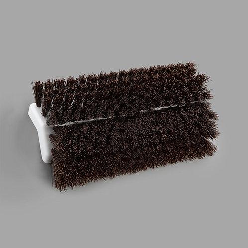 """Carlisle Sparta Spectrum 10"""" Hi-Lo Brown Floor Scrub Brush"""