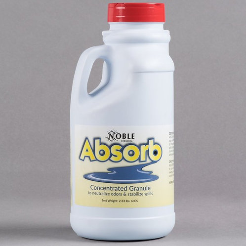 2 lb. / 32 oz. Noble Chemical Absorb Odor Neutralizer / Spill Stabilizer