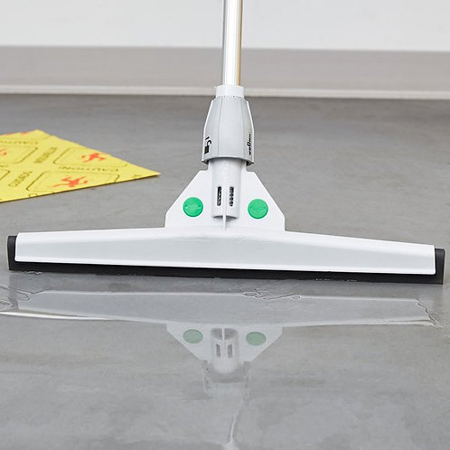 """Unger SmartFit Sanitary 22"""" St&ard Floor Squeegee w/ SmartColor System"""