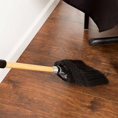 "Carlisle Flo Pac 6-Stitch Janitor Corn Broom w/ 45"" Handle"
