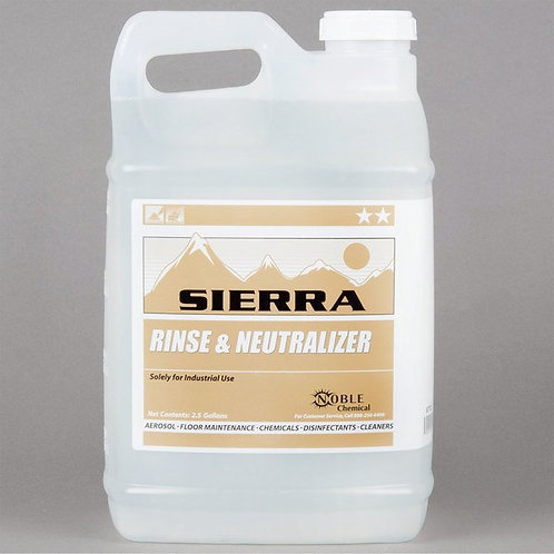 Noble Chemical 2.5 gallon/320 oz Carpet Rinse & Chemical Neutralizer - 2/Case