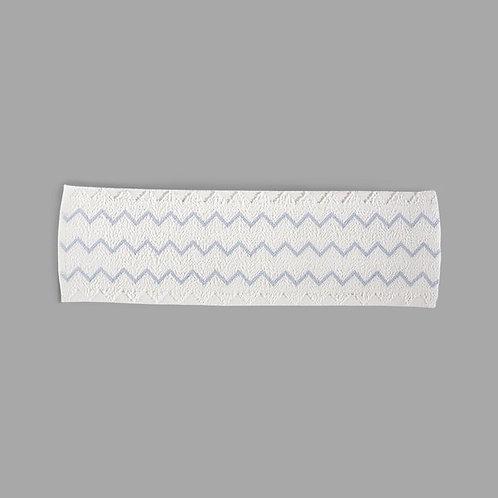 """Rubbermaid HYGEN 18"""" White Disposable Microfiber Wet Mop Pad - 150/Case"""