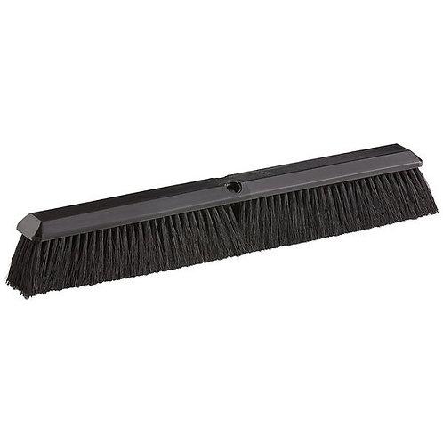 "Carlisle Flo-Pac 24"" Plastic Push Broom Head w/ Tampico Bristles"