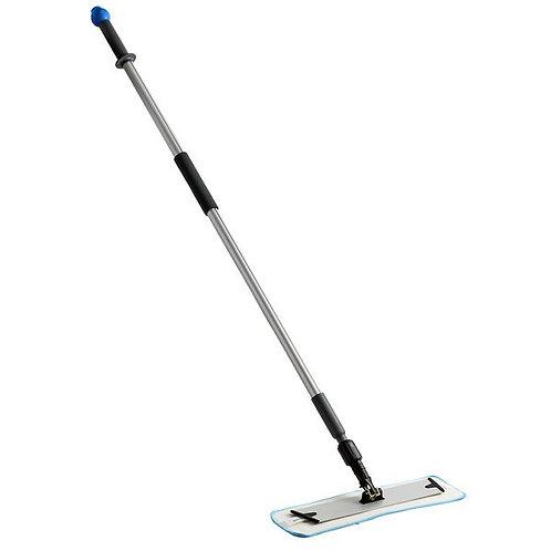 "18"" Blue Microfiber Spray Mop Kit w/ 2 Pads"