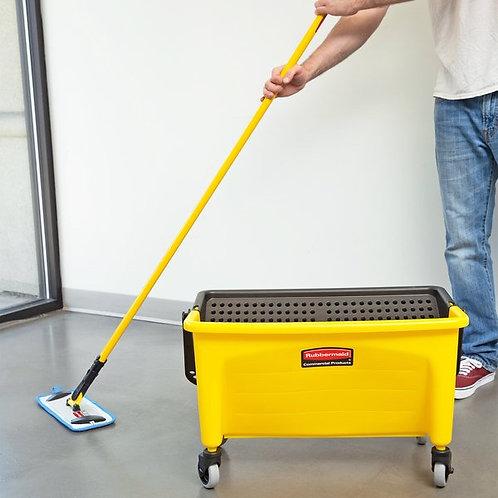 """Rubbermaid Hygen 11"""" Microfiber Wet Mop Kit w/ Mop, Pads, & Bucket"""