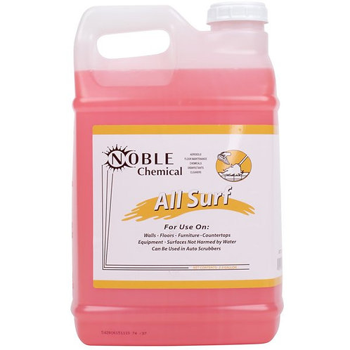 Noble Chemical 2.5 Gal./320 oz All Surf All Purpose Liquid Cleaner - 2/Case
