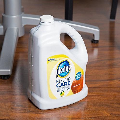 SC Johnson Pledge� 1 Gallon / 128 oz. Hardwood Floor Care Cleaner - 4/Case