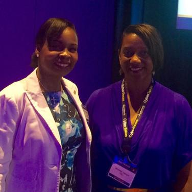 PR Solutions CEO, Michelle Jackson and San Antonio Mayor Ivy R. Taylor