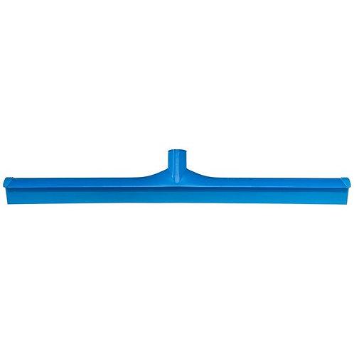 "Carlisle Sparta Spectrum 24"" Blue Single Blade Rubber Squeegee,Plastic Frame"
