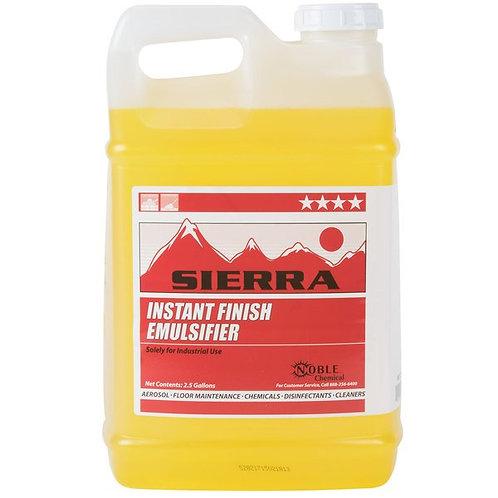 Noble Chemical 2.5 gallon/320 oz Instant Floor Finish Emulsifier - 2/Case