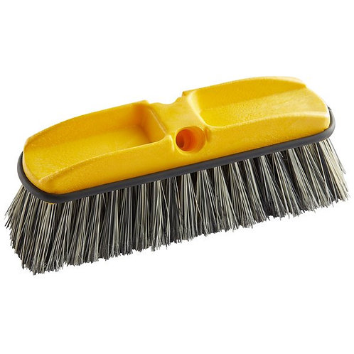 """Rubbermaid 10"""" Gray Flagged Vehicle & Wall Cleaning Brush"""
