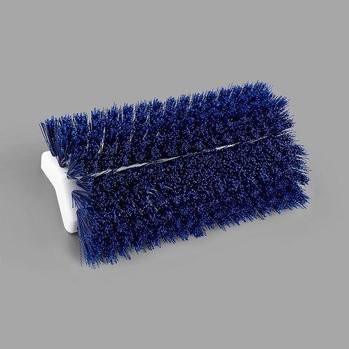 """Carlisle Sparta Spectrum 10"""" Hi-Lo Blue Floor Scrub Brush"""