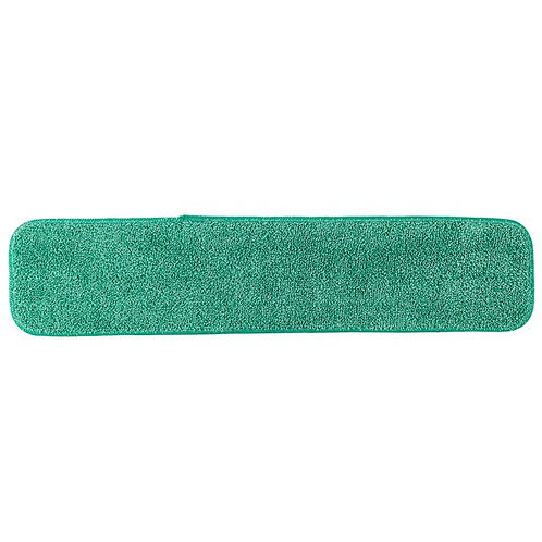 "Knuckle Buster 24"" Green Velcro� Microfiber Wet Mop Pad"