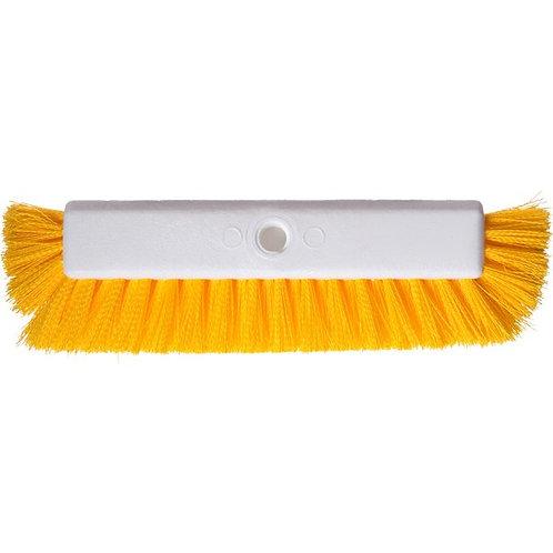 """Carlisle Sparta Spectrum 10"""" Hi-Lo Floor Scrub Brush w/ End Bristles"""