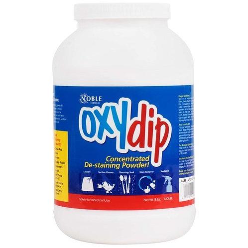 8 lb. / 128 oz. Noble Chemical Oxy Dip Bleach Presoak & Destainer - 4/Case