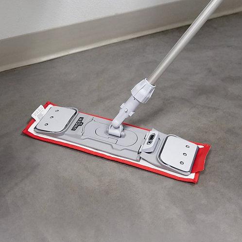 "Unger SmartColor 16"" Red Damp Mop Pad"