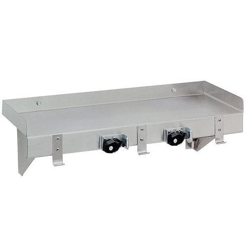 """Advance Tabco 36"""" Mop Sink Utility Shelf"""